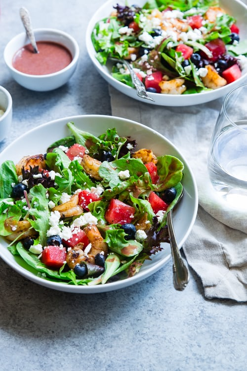 Kale Salad with Honey Vinaigrette